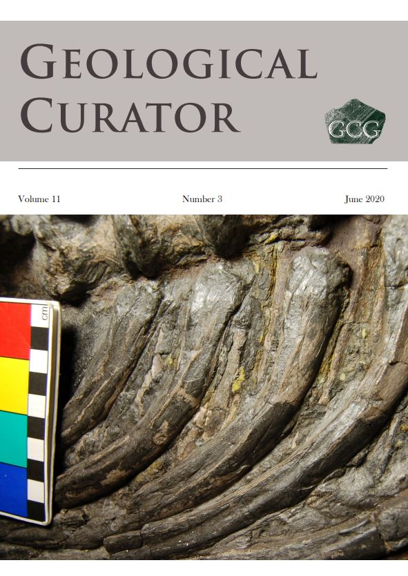 Geological Curator 11(3) - the first issue in our refreshed and redesigned style